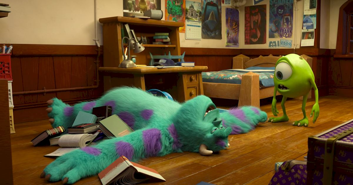 Funday - 14 Ways Monsters University Was Just Like Real University! - 1013