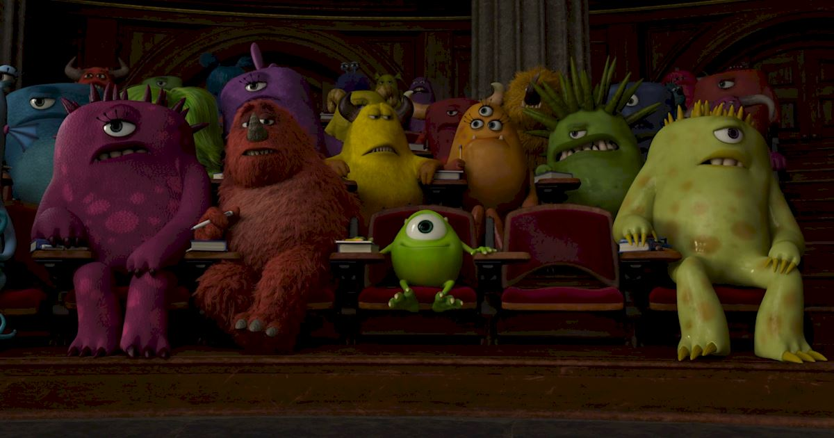 Funday - 14 Ways Monsters University Was Just Like Real University! - 1004