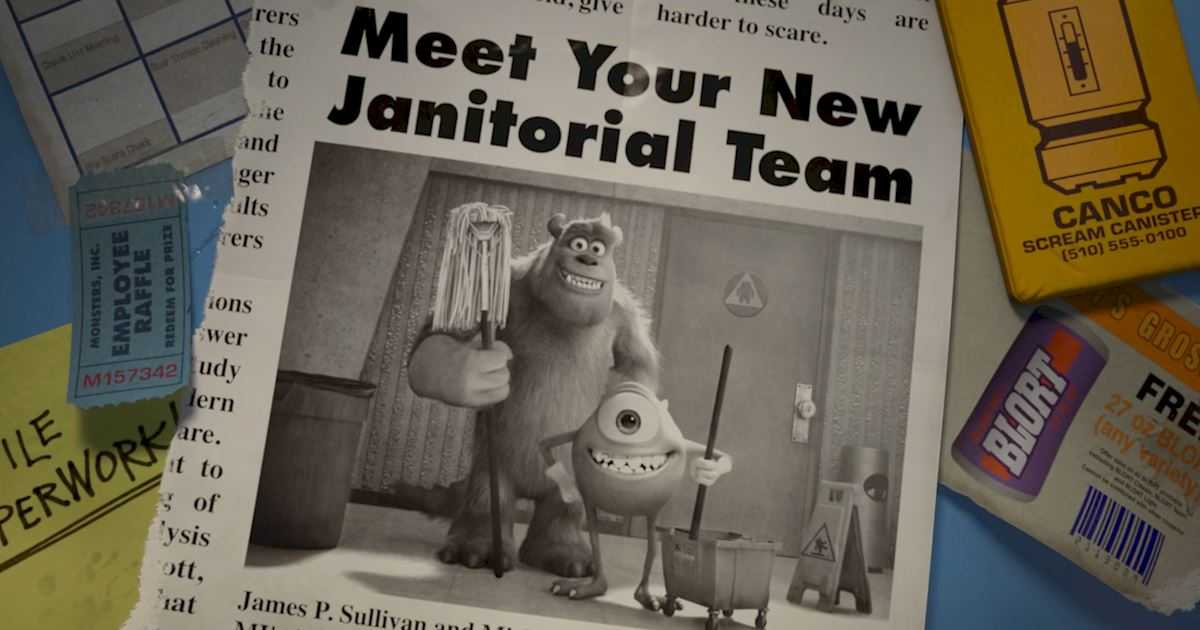 Funday - 14 Ways Monsters University Was Just Like Real University! - 1005