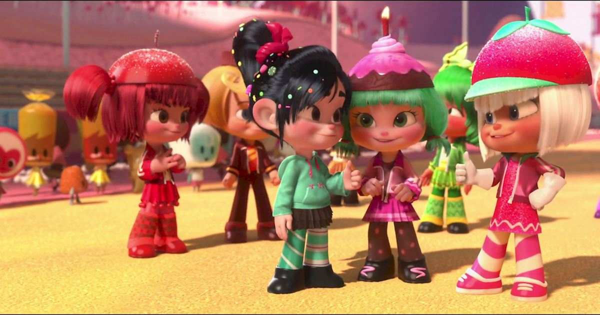 Funday - 10 Reasons Why We All Love Vanellope Von Schweetz! - 1012