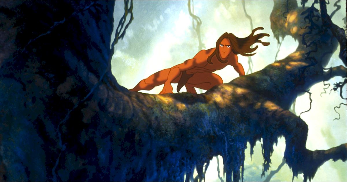 Funday - 8 Reasons You Should Live In The Jungle With Tarzan - 1003