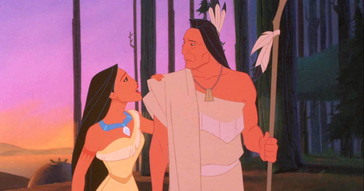Funday - 8 Times Pocahontas' Hair Was On Point! - 1002
