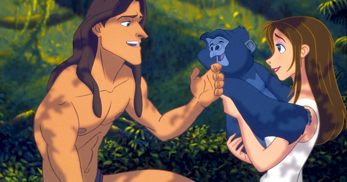 Funday - 8 Reasons You Should Live In The Jungle With Tarzan - 1001