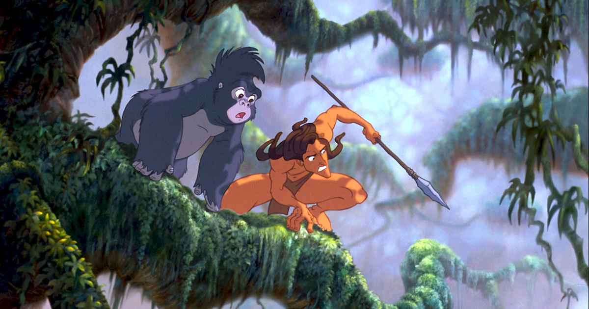 Funday - 8 Reasons You Should Live In The Jungle With Tarzan - 1005
