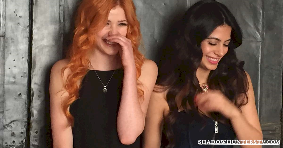 Shadowhunters - [EXCLUSIVE] <em>Shadowhunters</em> Press Day Photos - 1008