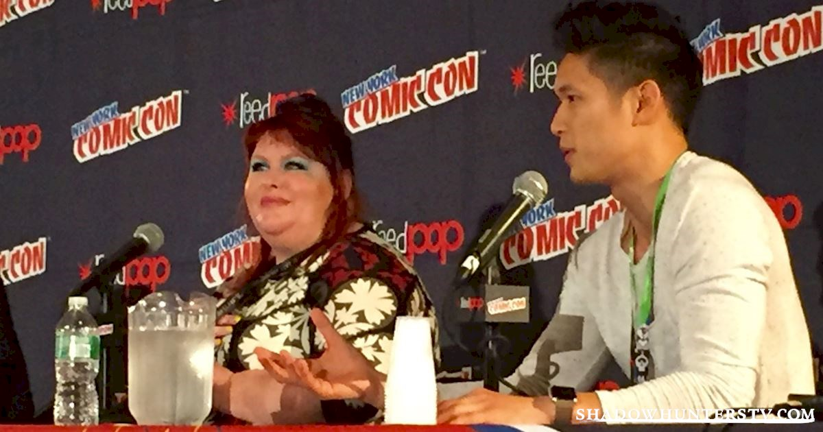 Shadowhunters - [LIVE] Cassandra Clare Q&A At New York Comic Con - 976