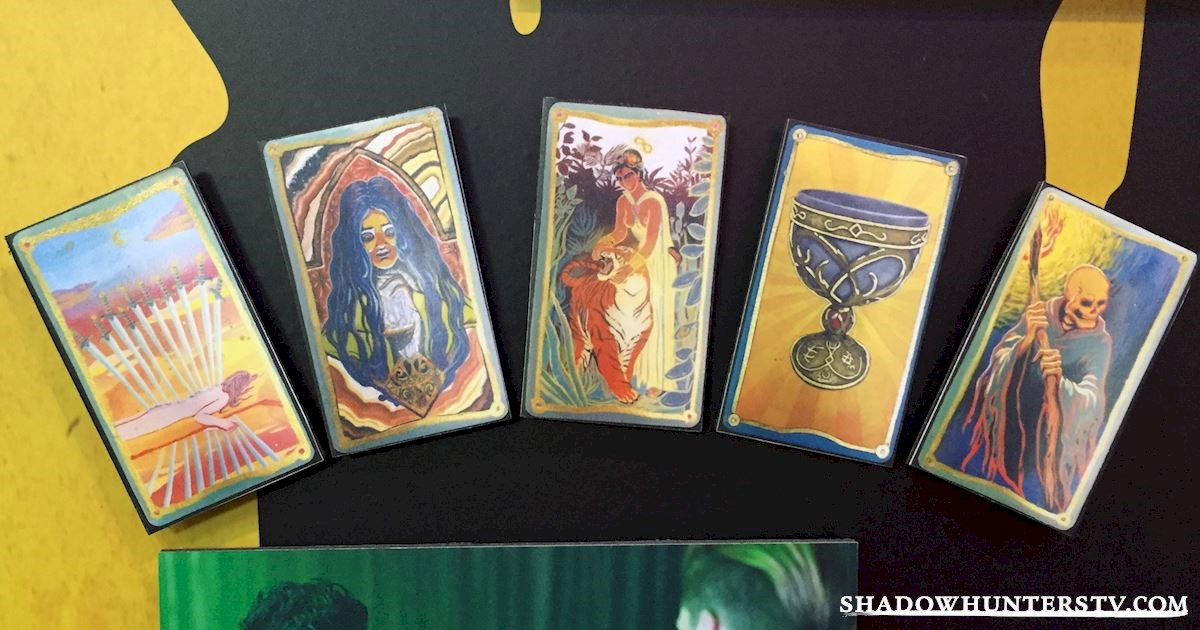 Shadowhunters - [EXCLUSIVE PHOTOS] Introducing The Tarot Cards - 1001