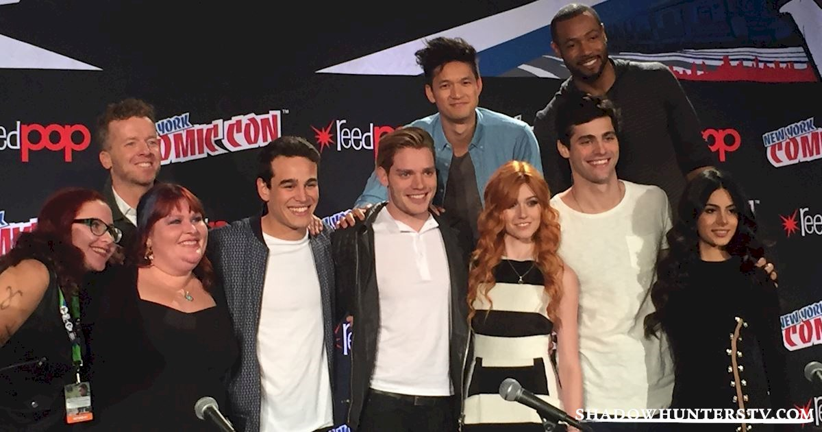 Shadowhunters - Shadowhunters Q&A At New York Comic Con - 1943