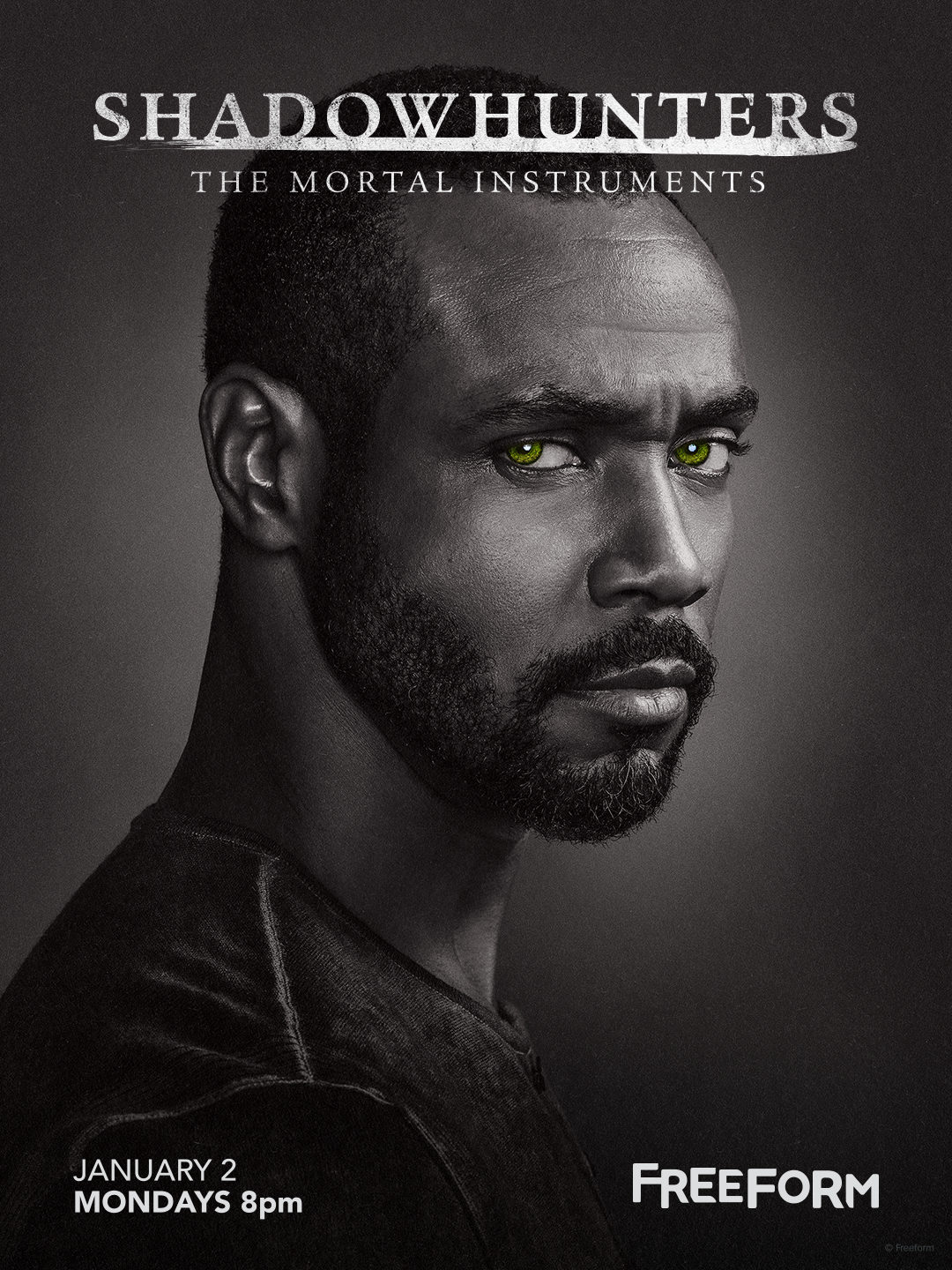 Shadowhunters - Unlock The Official Luke Poster For Season 2 By Tweeting Us With This Hashtag! - 1002