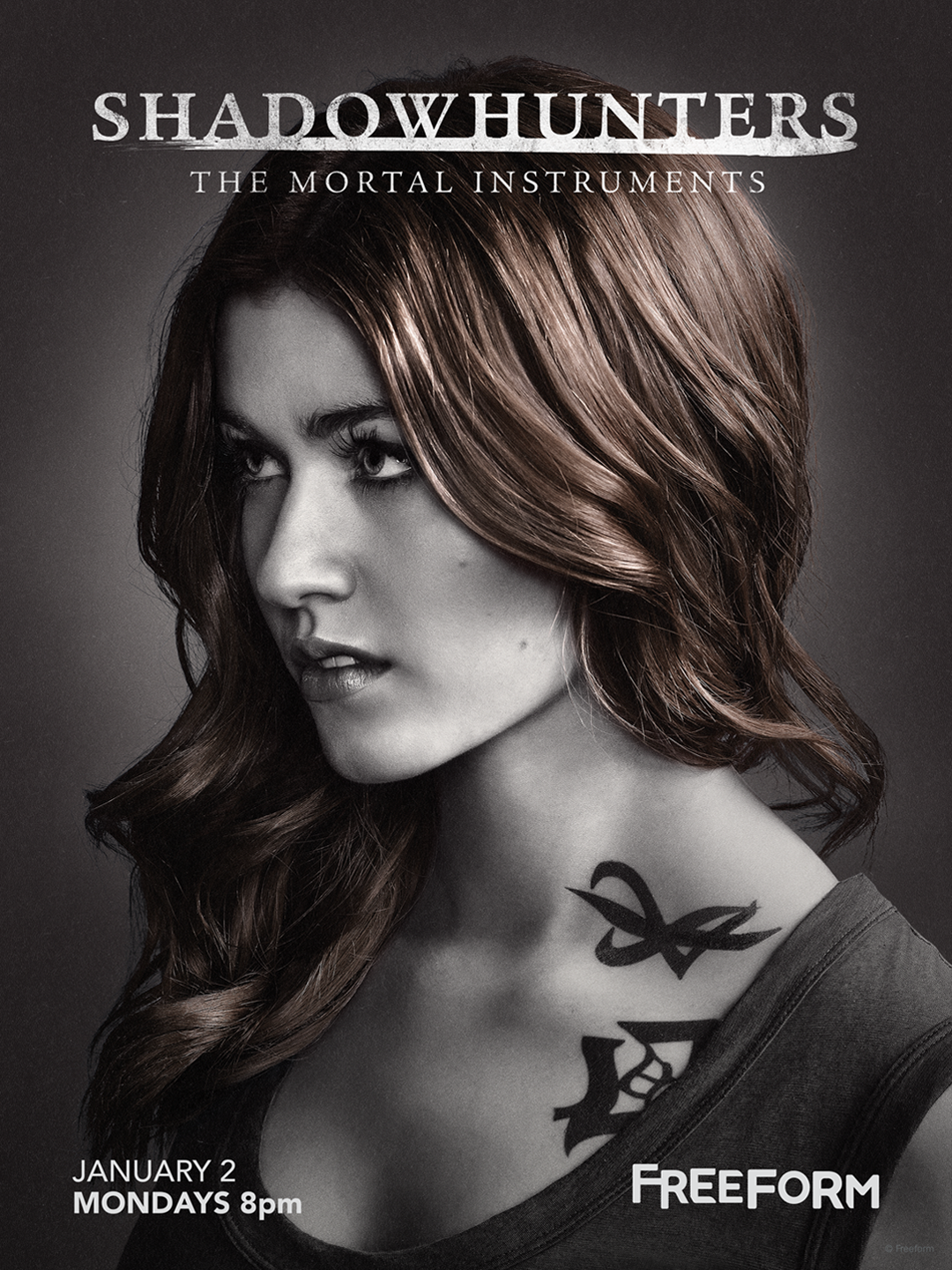 Shadowhunters - Unlock The Official Clary Poster For Season 2 By Tweeting Us With This Hashtag! - 1002