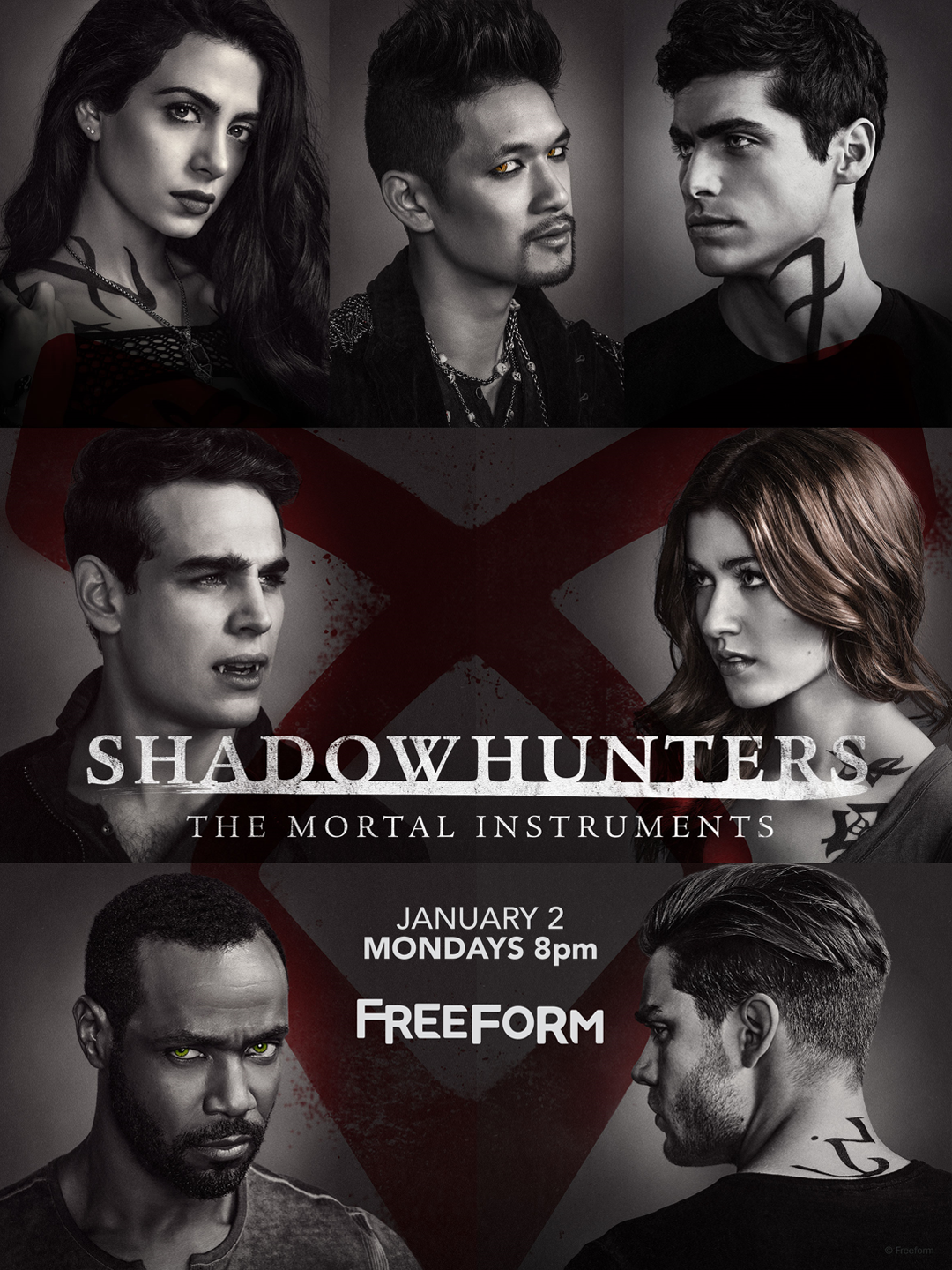 Shadowhunters - Are You Ready To Unlock The Final Shadowhunters Season 2 Posters? We've Got Two More! - 1003