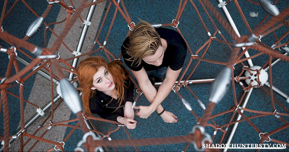 Shadowhunters - [PHOTOS] Playing Outside With the Shadowhunters: Part 1! - 1012