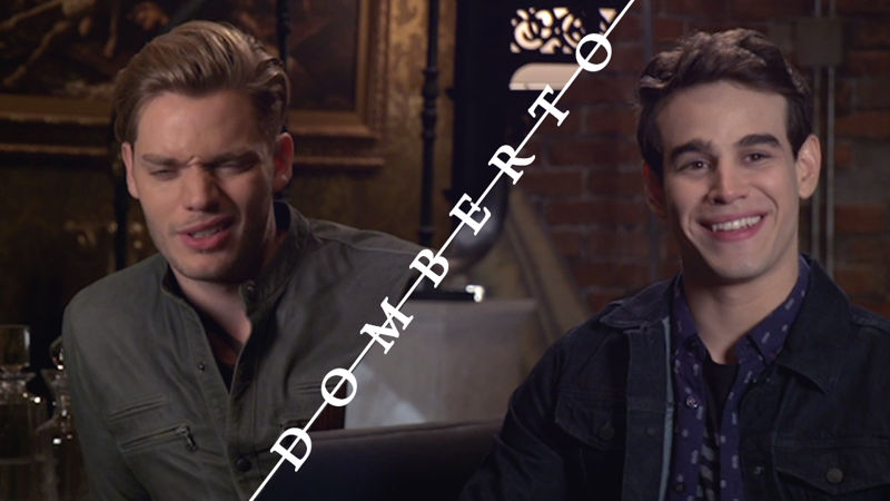 Shadowhunters - Exclusive: Watch Dom and Alberto Talk About The Rise Of Domberto! - Thumb